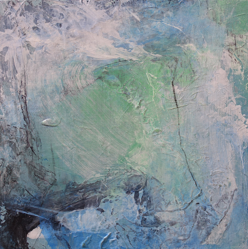 Dsc07398 Patriciawalshstudio White Water Acrylic And Charcoal On Wood 30x30x2@0.5kg