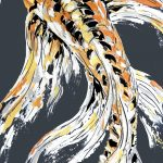 Golden Butterfly Koi