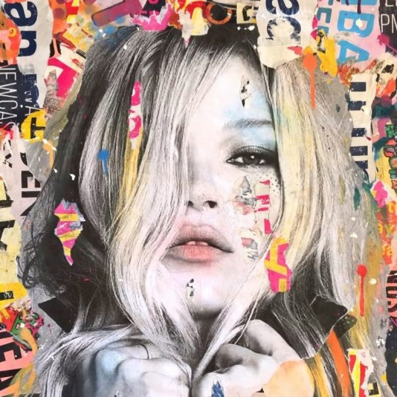 Kate Moss Pop Art For Sale By Coldghost