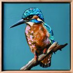 Sacred Kingfisher Blue