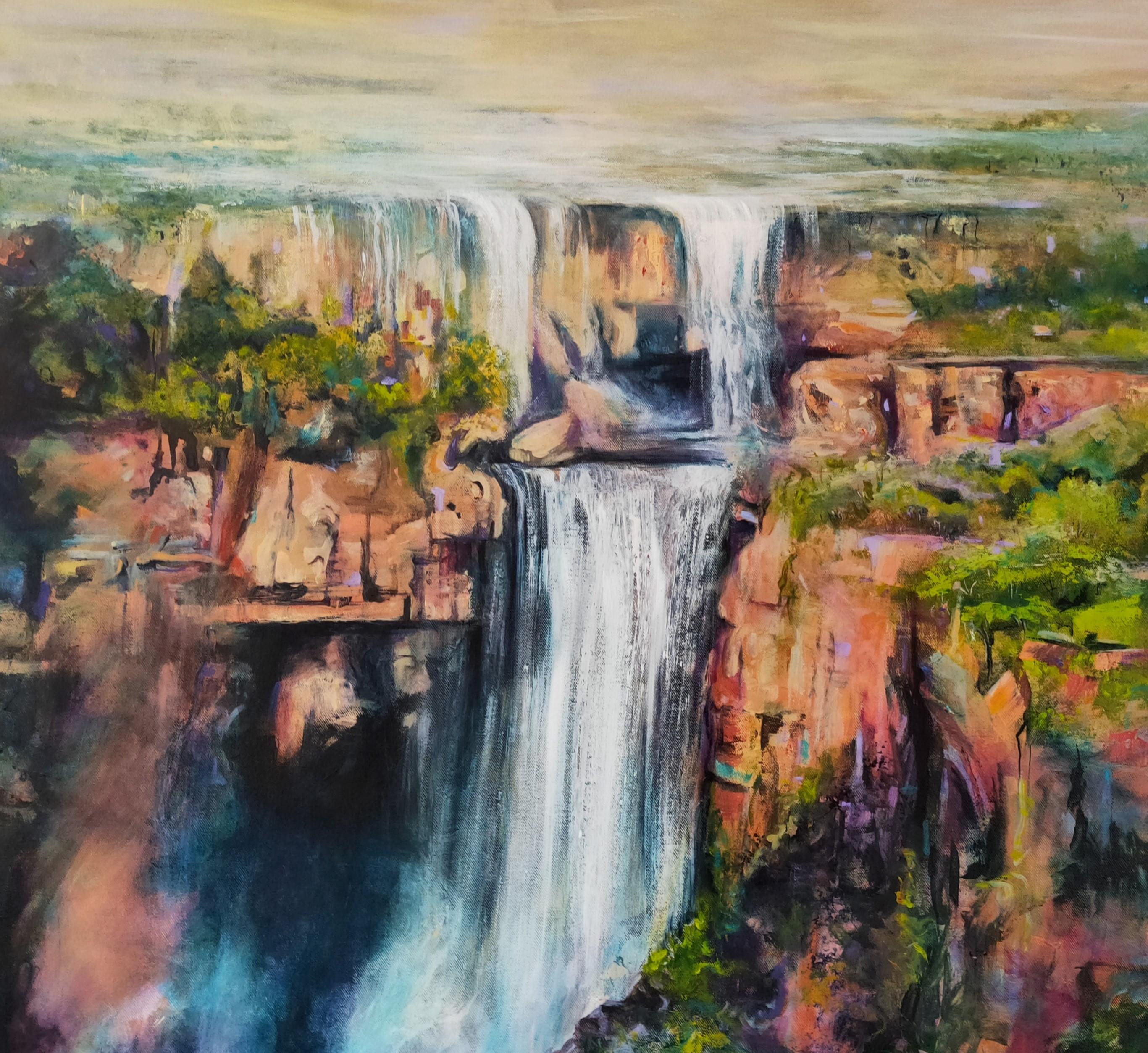 Kakadu Falls Crop