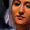 Maria Radun Portait Of A Woman Close