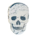 MR. WHITE – RESIN SKULL ART