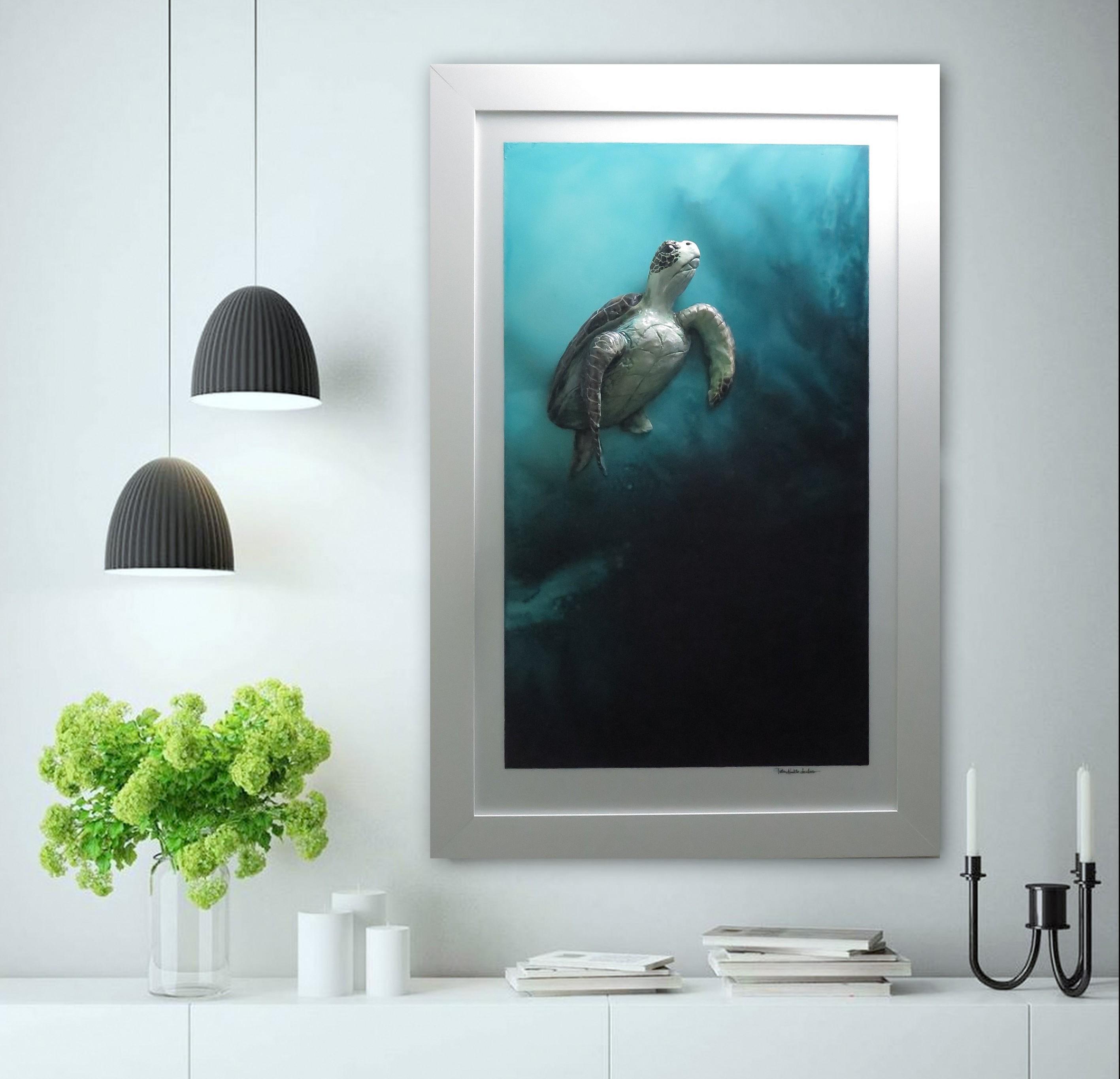 Sea Turtle Art Petra Meikle De Vlas2