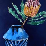 Banksia in Vase