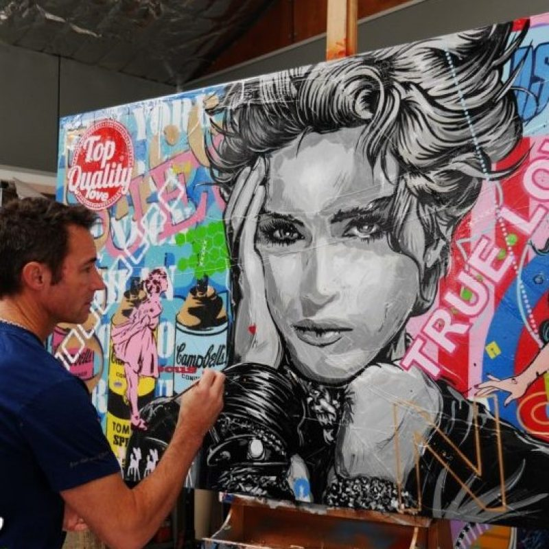 Madonna Painting By Franko Pop Art For Sale