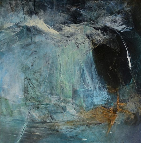 Patriciawalshstudio Beyond Byron Acrylic On Canvas 60x 60x3.5cm