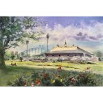 Royal Botanic Gardens – Original watercolour painting