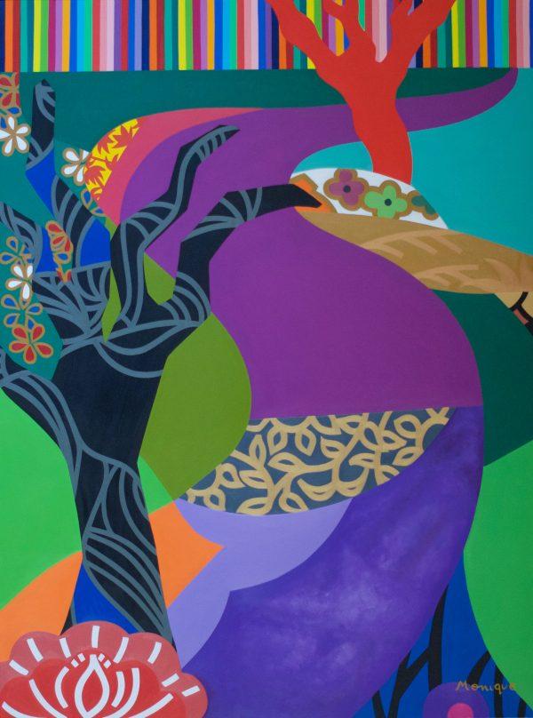 Tree Of Diligence Monique Baques