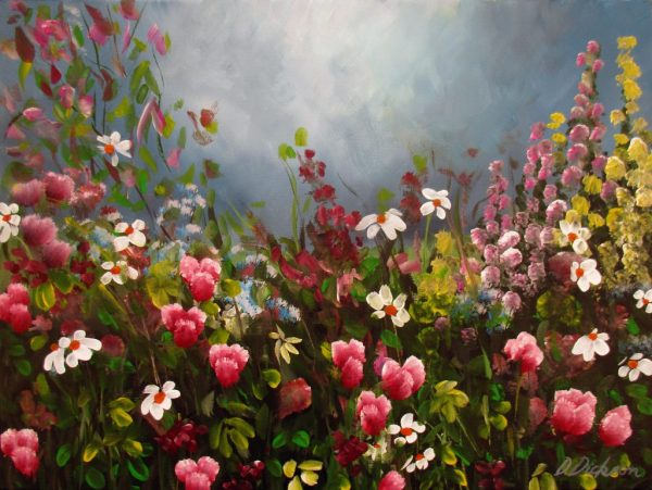 Wildflowers 5 Debra Dickson Botanical Paintings For Sale Art Lovers Australia