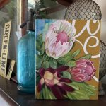Vintage Scrolls and Proteas