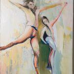 Ballet Dancers in Pas De Deux