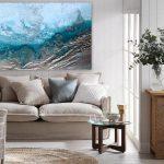 "Art prints on canvas ""Ocean Channel"" – Ltd Ed Print"