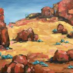 Australian Landscape Gold