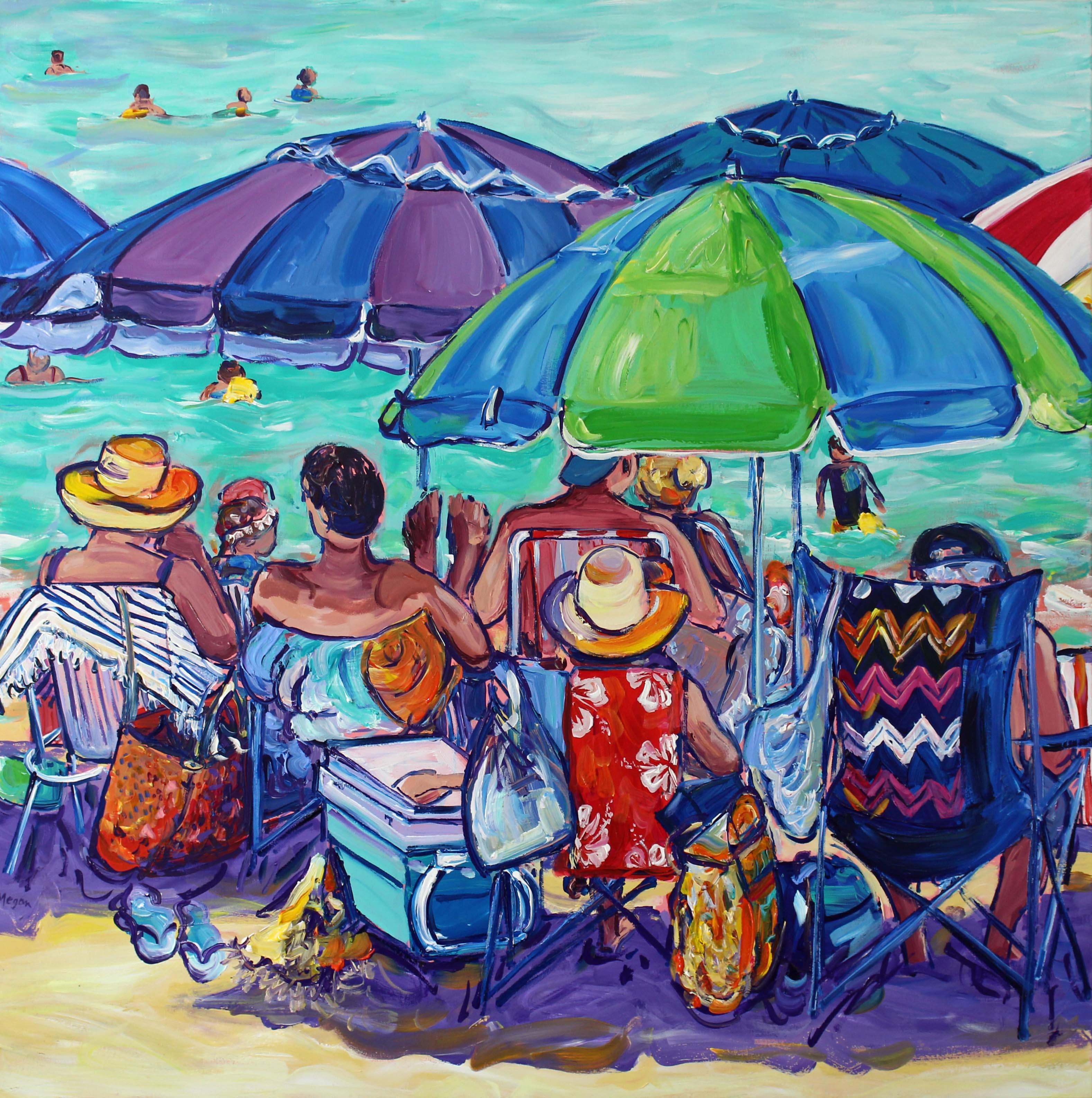 Beachgoers No.2 Megan Barrass