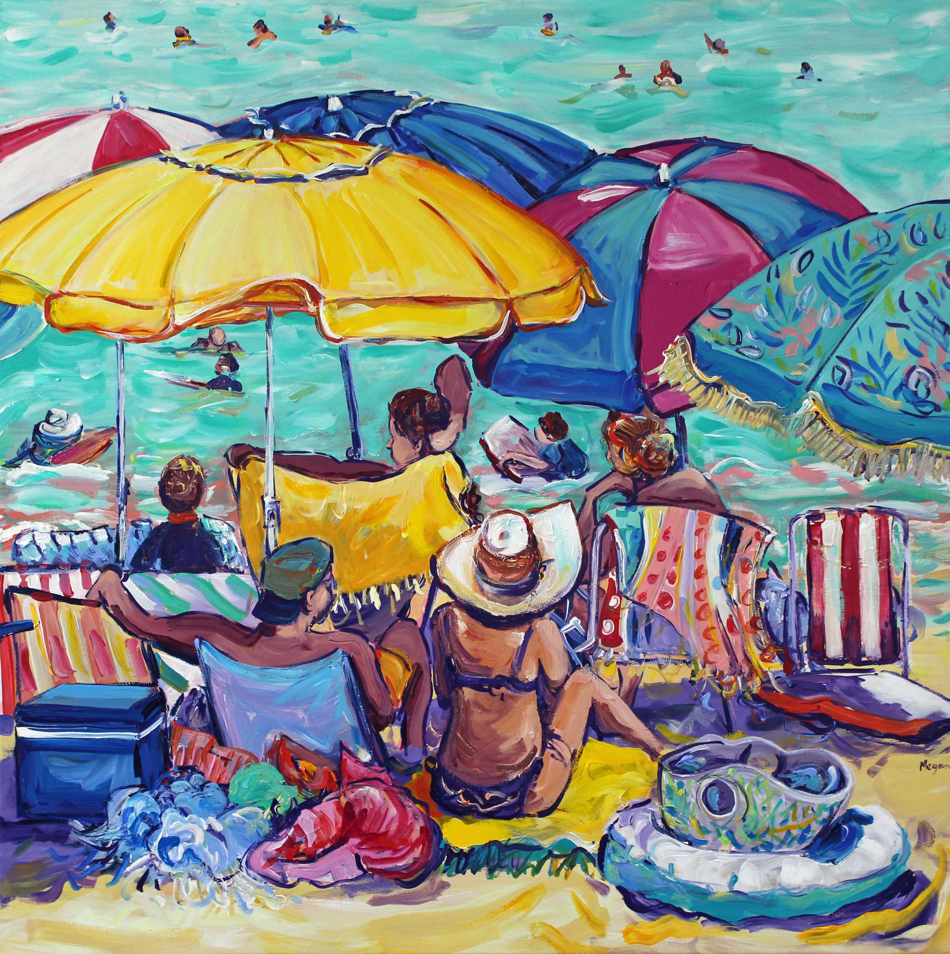 Beachgoers No.3 Megan Barrass