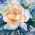 Rose – Original watercolour painting