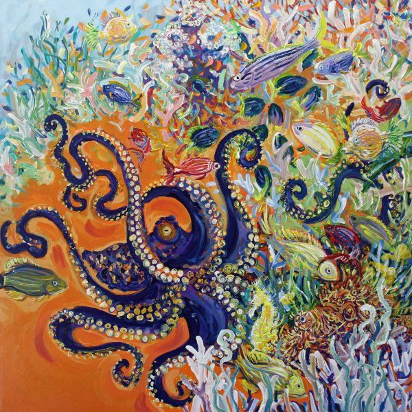 Octopus's Garden No.1 Megan Barrass Sm