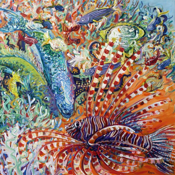 Octopus's Garden No.2 Megan Barrass Sm