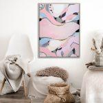 Pink Lake Esperance Print