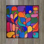 Rainbow Lorikeet – Acrylic on Canvas