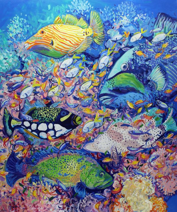 Reef Rhapsody Megan Barrass Sm