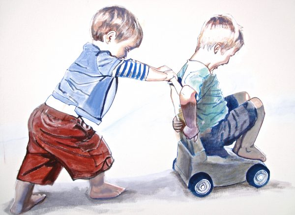 Ross Morgan Boys And Cart 2014 2