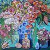 Vases, Jars, Flowers And Shells Megan Barrass Sm