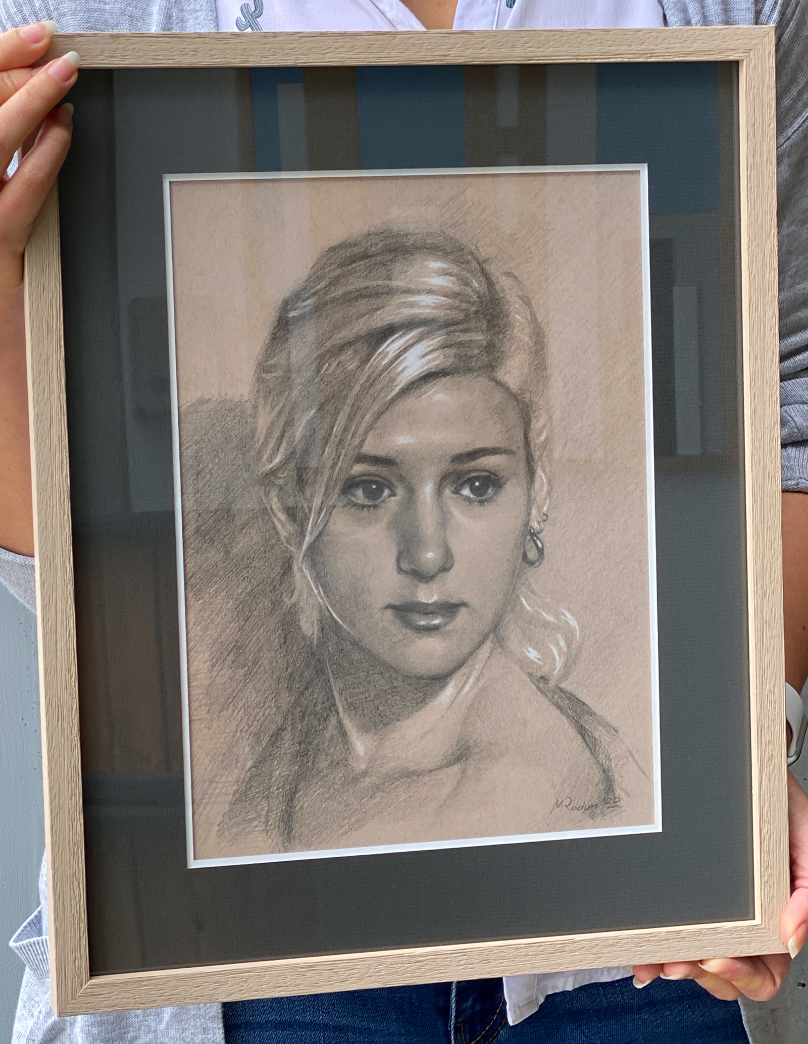 Portrait In Pencil
