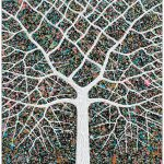 Starry Night Tree Portrait – SOLD