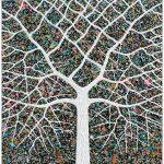 Starry Night Tree Portrait – SOLD