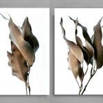 Autumn Leaves Diptych