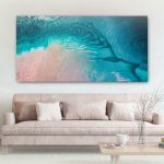 Art on canvas – Sunset Waters