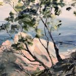 Noosa National Park – Open Edition reproduction on Canvas