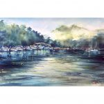 Berowra Waters – Original watercolour painting