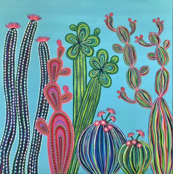 Cactus Party No.4