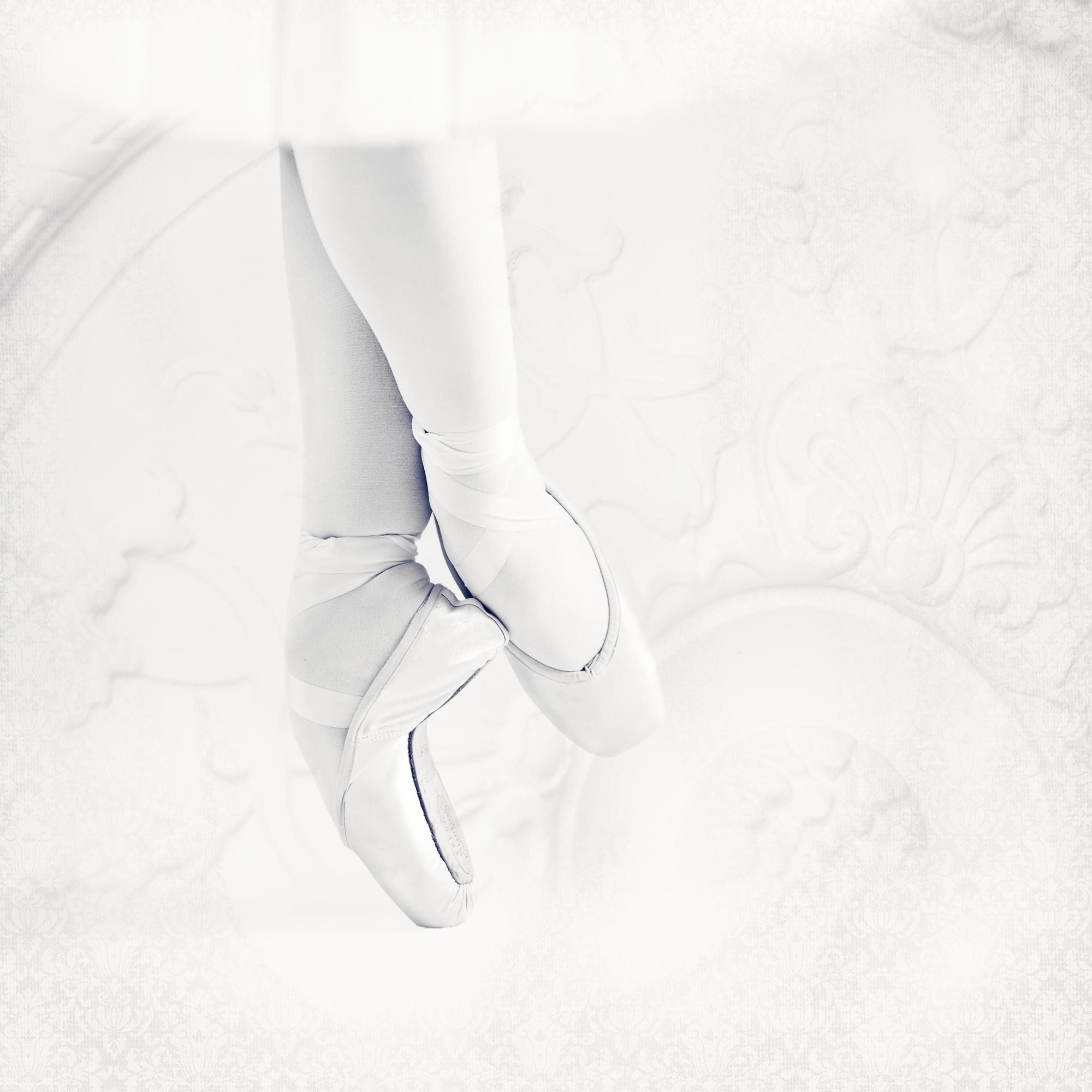Ballerina Feet, In Paris. Black And White Fine Art Print, Home Decor Gift.