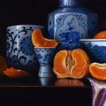 Glorious Mandarin – Ltd Ed Print on Canvas