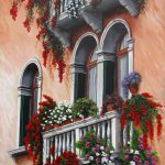 Romantic balconies Ltd Ed giclee print