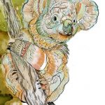 Koala Line Ltd Ed Print
