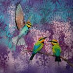 Room for one more – Rainbow bee eaters