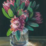Sunlit Proteas