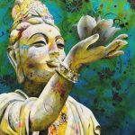 The Offering – Buddha Statue Ltd Ed Print