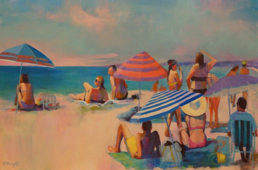 Beachscape Sandra Michelle Knight