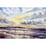 Bondi Beach – Original watercolour painting