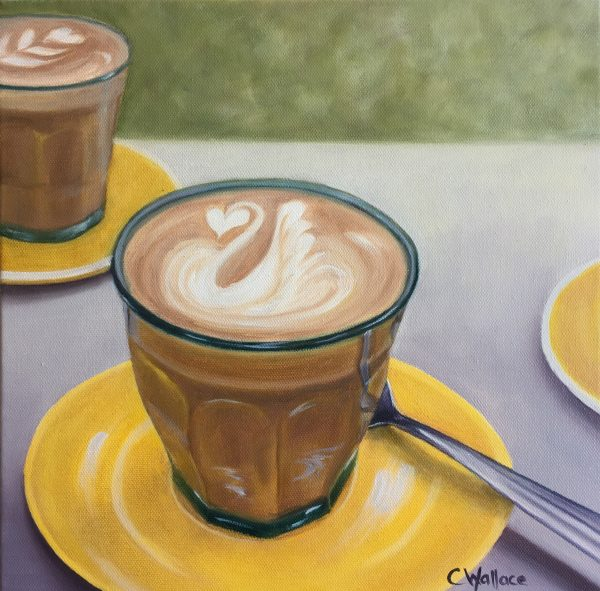 Catherine Wallace Latte Together Still Life