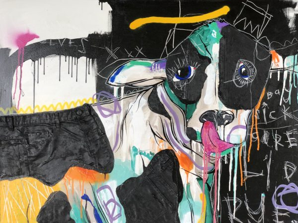 Large Paintings For Sale Nathan Paddison Cow
