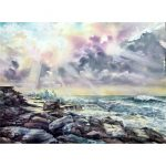 Maroubra – Original watercolour painting