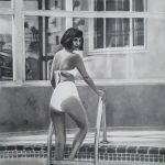 Palm Springs Bather