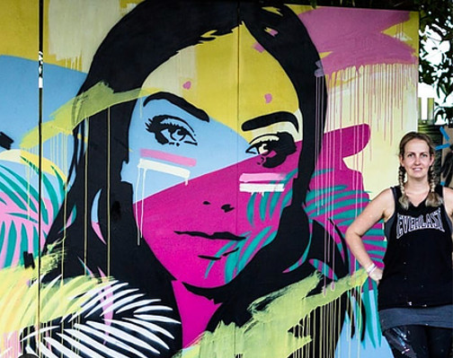 Sarah Sculley Murals And Street Art Commissions